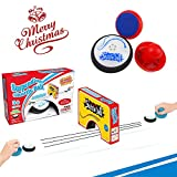 Mini Air Power Soccer Ice Hockey Ball Board Game Disk Ball Shuttle Ball Hover Ball Pretend Play Board Game Toy For Kid Christmas Gift