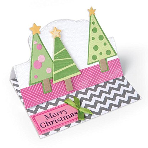Sizzix Christmas Trees Triplits Dies by Stephanie Barnard, 14-Pack 659926