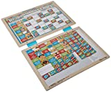 "Melissa & Doug Magnetic Responsibility Chart (Developmental Toy, Encourages Good Behavior, 90 Magnets, 15.6"" H x 11.7"" W x 1.2"" L, Great Gift for Girls and Boys - Best for 3, 4, 5 Year Olds and Up)"