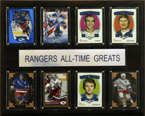 NHL New York Rangers All-Time Greats Plaque ()