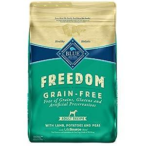 Blue Buffalo Freedom Grain Free Recipe for Dog, Lamb Recipe, 24 lb 118