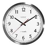 Best Atomic Clocks - La Crosse Technology 404-1235UA-SS 14 Inch UltrAtomic Analog Review