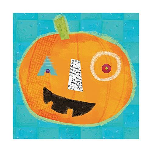Trademark Fine Art Painted Jack-O-Lantern 1 by Holli Conger, -