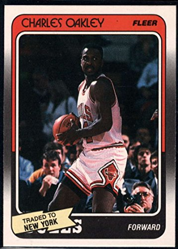 Basketball NBA 1988-89 Fleer #18 Charles Oakley Knicks