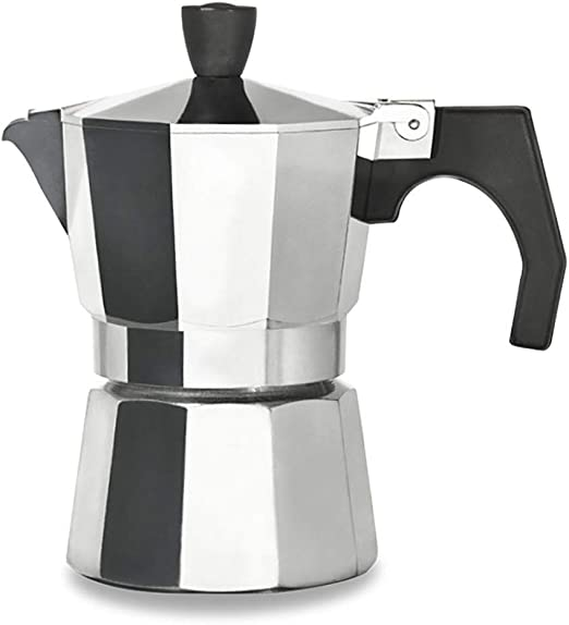 Cafetera espresso, Moka Caffè 3-12 Tazas, Cafetera, Aluminio ...