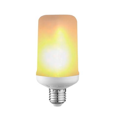 zeben bombillas LED luz de vela Flash emulación Vintage atmósfera decorativa lámparas 5 W E26/