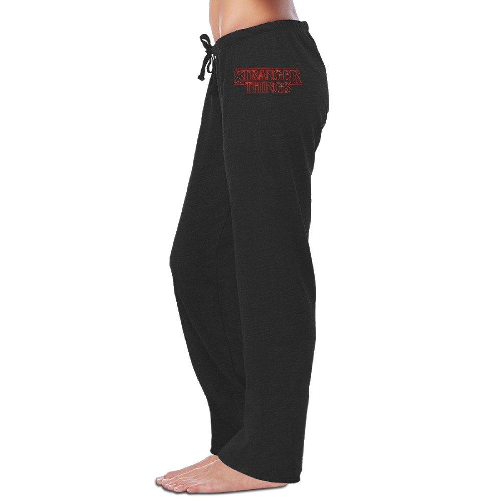 Women's STRANGER THINGS Logo TV Series 2016 Jersey Pant Sweatpants