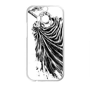 Cool Men With Sword White htc M8 case