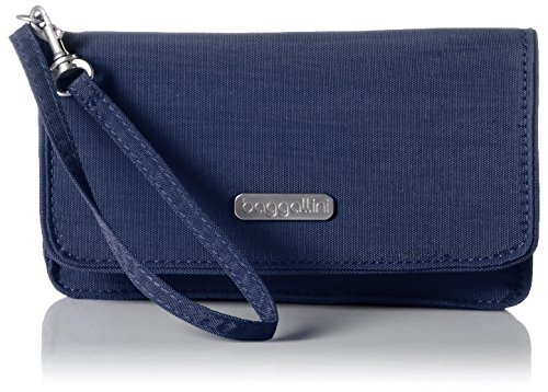 Baggallini Flap Wristlet, Pacific by Baggallini