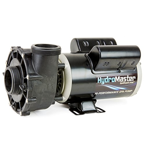 HydroMaster Two-Speed Side Discharge Hot Tub Pump - 48-Frame - 1.5 HP - 120V
