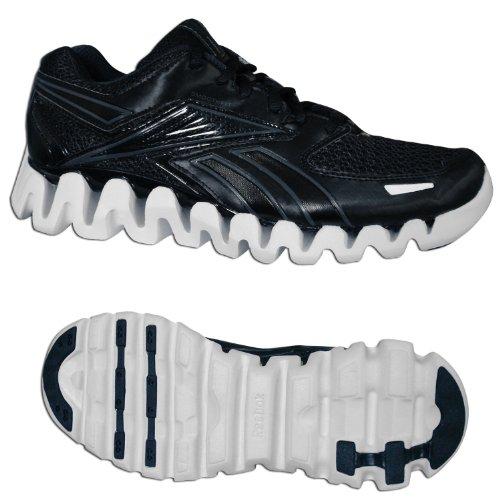 ReebokZig Blaze St - Zapatillas de correr Hombre Negro - Schwarz/dark silver