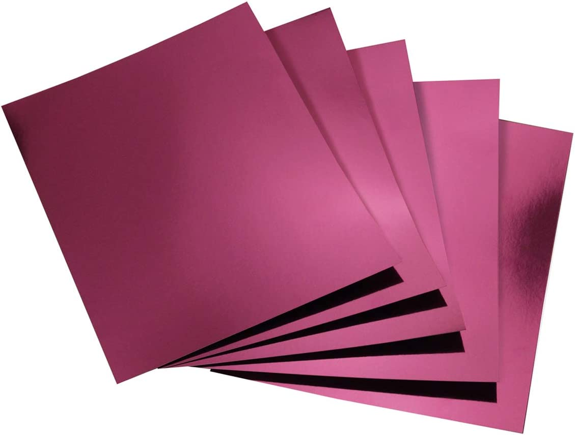 100 Pack Purple Hygloss Products Metallic Foil Board Sheets-8.5 x 11 Inches