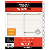 Day Runner Weekly / Monthly Planner Refill 2017, 8-1/2 x 11