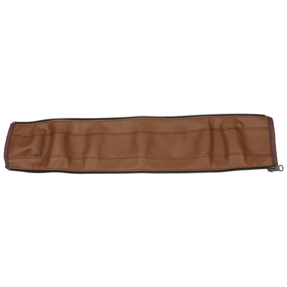 HuaYang Pram Accessories Armrest Covers Handle PU Leather For Baby Stroller Protective Brown HuaYangca