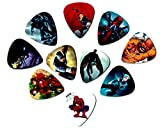 #2: Superhero Guitar Picks (10 medium picks in a packet) (Avengers)