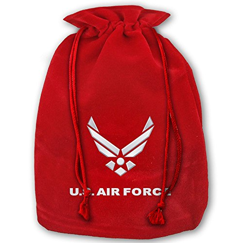 US Air Force Symbol Santa Sack