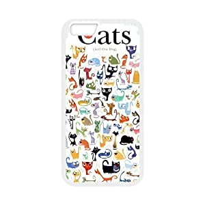 """Cats Popular Case for Iphone6 Plus 5.5"""", Hot Sale Cats Case by runtopwell"""