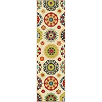 Orian Rugs 2302 Veranda Hubbard Runner Rug, Multicolor - 2.25 x 8 ft.