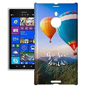 Phone Case For Nokia Lumia 1520 - Go See The World Travel Protective Premium