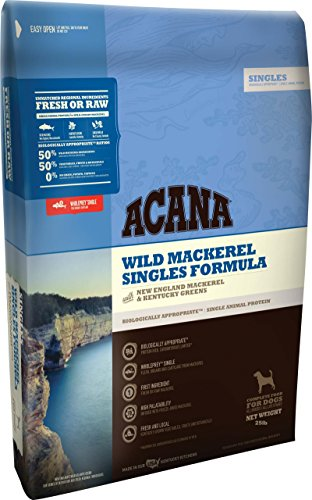 Orijen Acana Singles Wild Mackerel Dry Dog Food, 25 lb