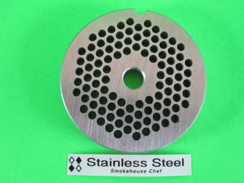 """#22 x 3/16"""" STAINLESS STEEL Meat Grinder plate disc for sale  Delivered anywhere in Canada"""