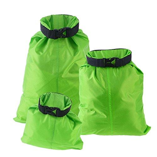 UEETEK 3pcs 1.5L+2.5L+3.5L Waterproof Dry Bag Storage Pouch Bag for Camping Boating Kayaking Rafting Fishing