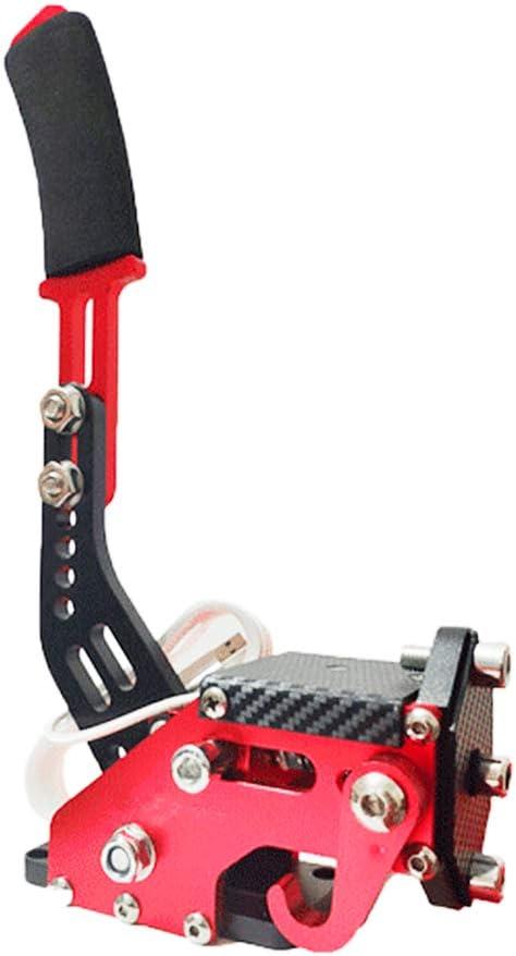 Baugger Baugger Handbrake-Le frein /à main Pc USB 14 bits simule un frein /à main lin/éaire pour les jeux de course pour Logitech G27 G29-Black