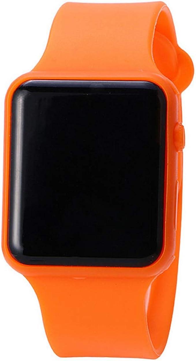 Reloj de pulsera para estudiantes, correa de silicona, reloj ...