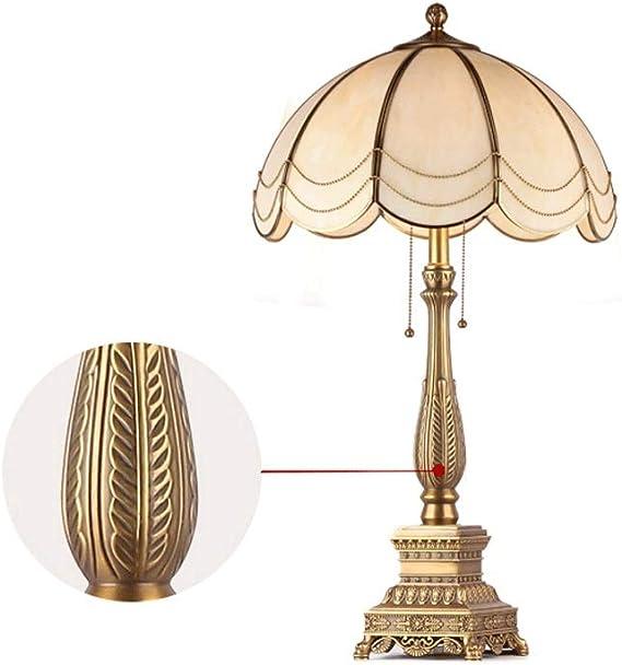 DEPAOSHJ H65 Lampe de table décorative de salon en laiton