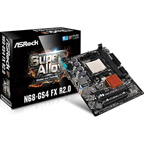ASRock Motherboard Motherboards N68-GS4 FX (Am3 Micro Atx Motherboard)