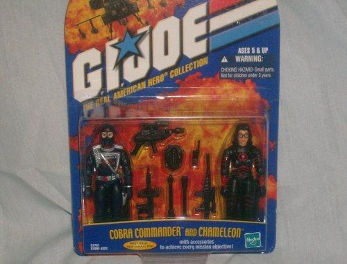 Cobra Commander and Chameleon GI Joe The Real American Hero Collection 2-Pack
