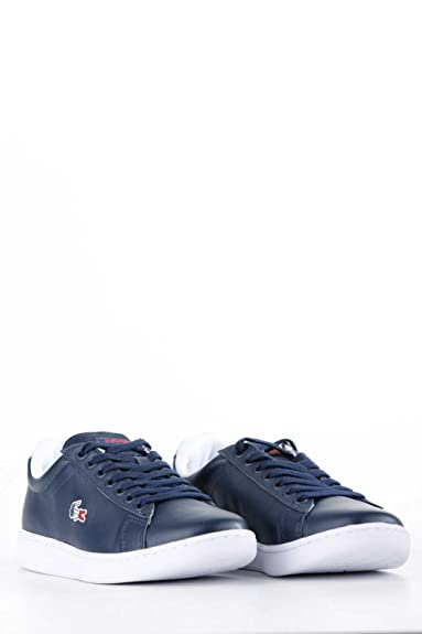 446ae5c849 Lacoste Carnaby Evo 317 3 Spm Navy Red 734spm0003144 pointure 40 1/2 ...