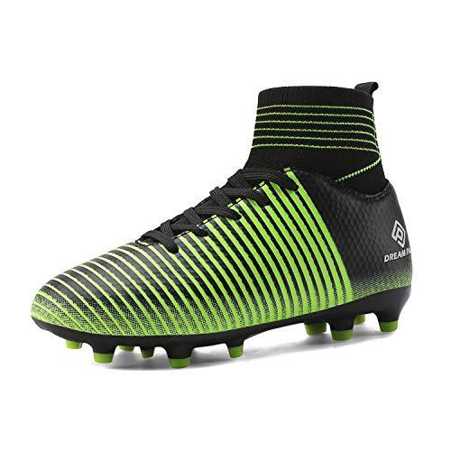 Football Casual Shoes - DREAM PAIRS Boys Girls HZ19004K Black