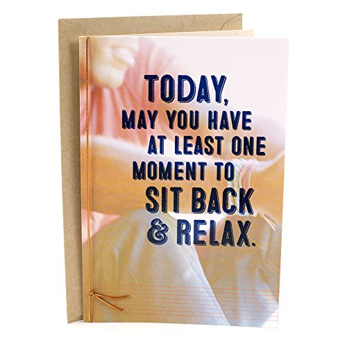 Hallmark Mahogany Father's Day Greeting Card (Sit Back and (Brother Card)