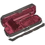 Bobelock 1002 Oblong 3/4 Violin Case with Wine Velour Interior