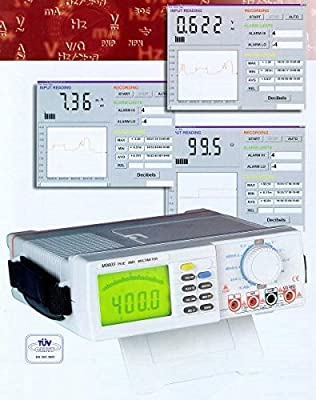 Mastech M9803R True RMS Bench Type Digital Multimeter with RS232C Standard Interface