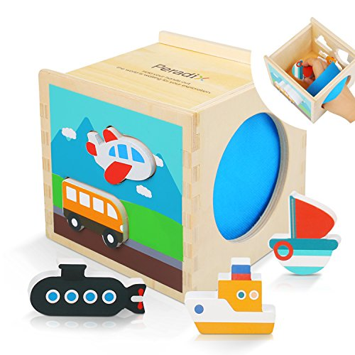 Promising wooden shape sorter