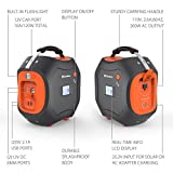 500Wh Portable Generator, Jackery Explorer / Power Pro Rechargeable Lithium Battery Pack Quiet Generator with 110V / 300W AC Outlet, 12V Car, USB Output Clean Off-grid Emergency Power Pack for Camping