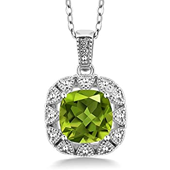 silver best necklace uk set ebay exclusive white gold stone miracle and australia earring peridot amazon canada
