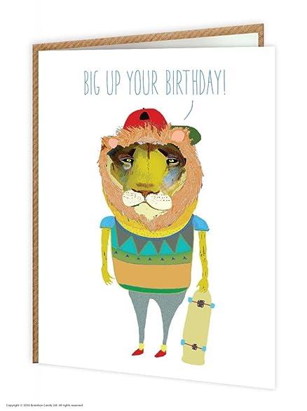 Amazon Brainbox Candy Funny Humorous Big Up Your Birthday