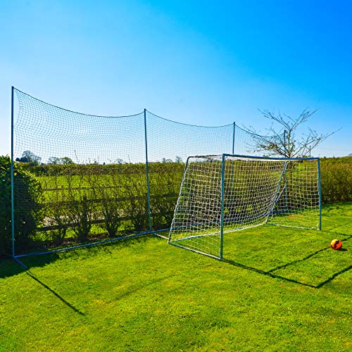 Stop That Ball™ Premium Quality Soccer Ball Stop Net System (02. 20ft Wide) (Netting Barrier)