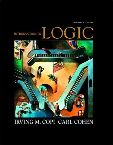 Download Introduction to Logic (text only) 13th(thirteenth) edition by I. M. Copi,C. Cohen pdf epub