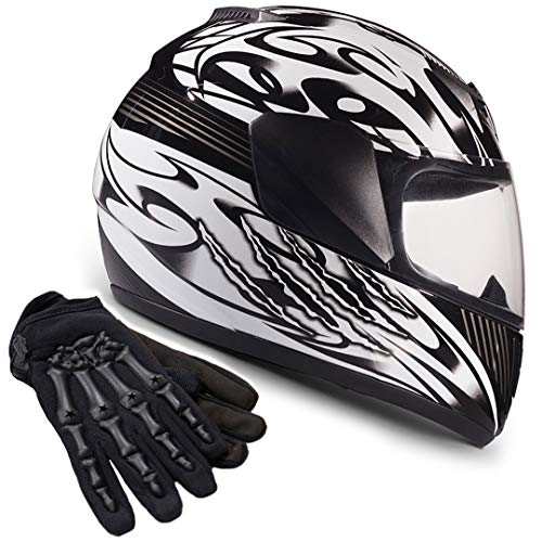Gray Alomejor Motorcycle Helmet Goggles Detachable Motorcycle Face Mask Helmet Mask UV Protect Helmet Goggles
