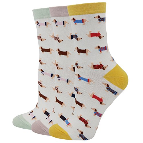 Pomlia Women's Haute Dachshund Socks Dog Socks (OneSize, for sale  Delivered anywhere in USA