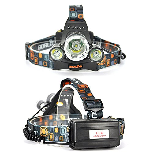 Boruit-Headlamp-with-Green-Light-Green-Coyote-Hog-Hunting-Light--Green-Fishing-Head-Lamp-Rechargeable-Green-Backlight-Adjustable-Perfect-Headlights-for-Camping-RunningReadingCycling-Caving