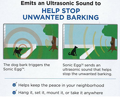 Sunbeam® Sonic Egg Bark Control Device and Little Sonic ...