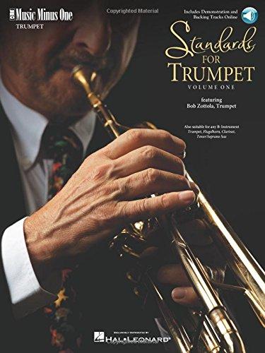 Standards for Trumpet - Volume 1: Music Minus One Trumpet