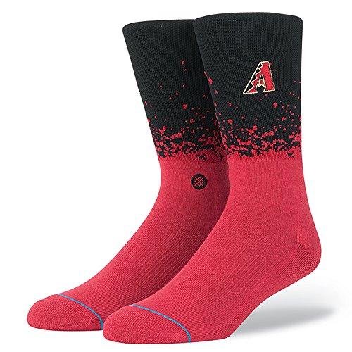 Stance Fade Men's MLB Stadium Socks (Diamondbacks, Medium)