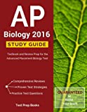 AP Biology 2016 Study Guide: Textbook and Review Prep for the Advanced Placement Biology Test