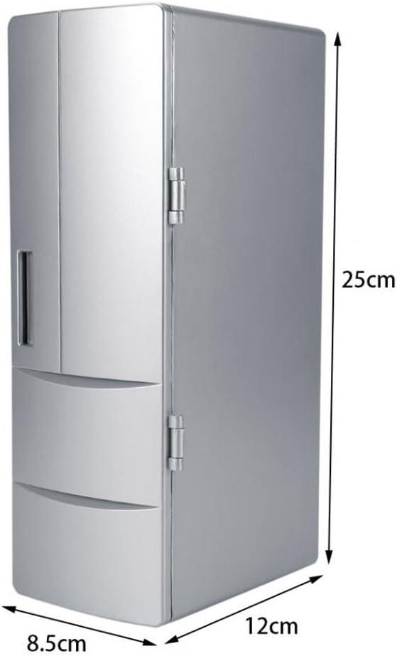QIHANGCHEPIN Portátil Mini USB PC Refrigerador portátil ...